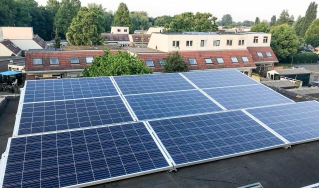 In Weesp kwamen er in de afgelopen vier jaar 515 zonnepaneelsystemen bij.