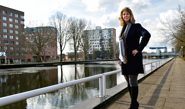 VVD-fractievoorzitter Brigitte Wielage.