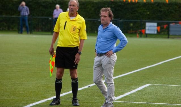 Roberto Tessaro: 'Ik heb zelf ook mijn ambities en dan moet je ervaring opdoen als hoofdtrainer.'