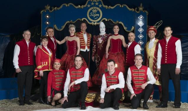 De crew van Circus Sijm komt binnenkort naar Huizen voor diverse voorstellingen.