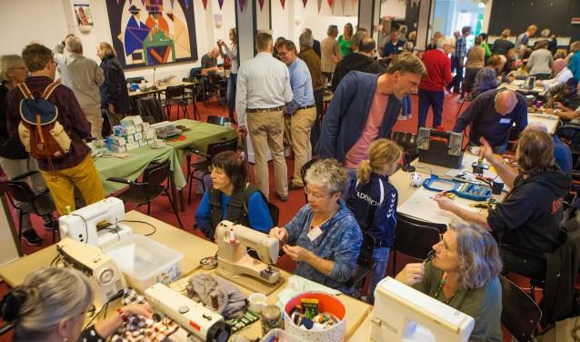 Repair Café Bussum hoopt op veel bezoekers.