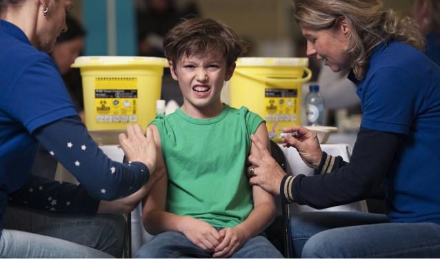 Vaccinatie is eigenlijk een cadeau, vindt Huijgen.