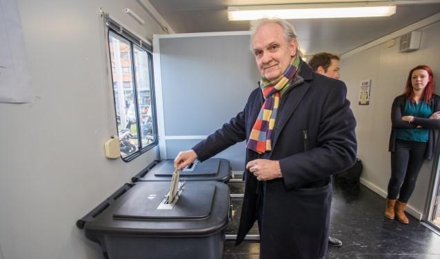 Zal burgemeester Pieter Broertjes ook stemmen?