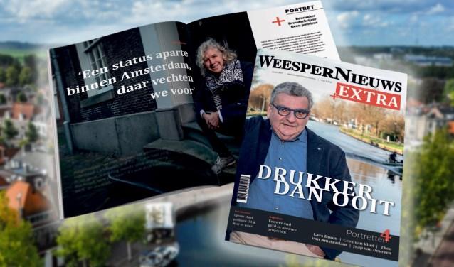 Het eerste nummer van WeesperNieuws Extra Magazine verschijnt nog deze maand.