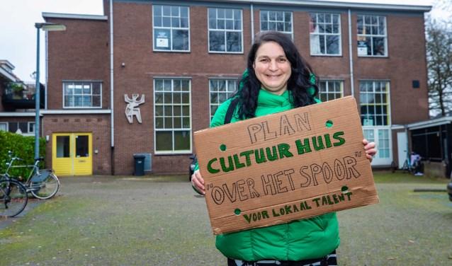 Jacqueline van Oostveen heeft plannen voor het oude pand van Theater Achterom.