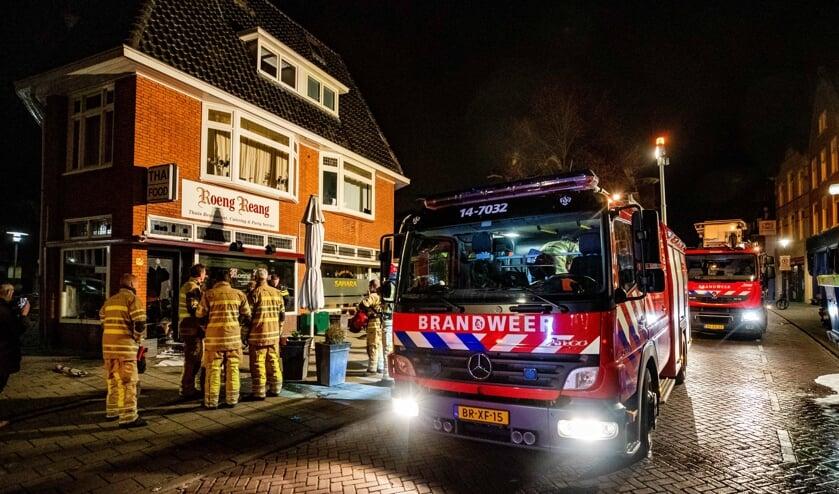 De brand in de Langestraat.