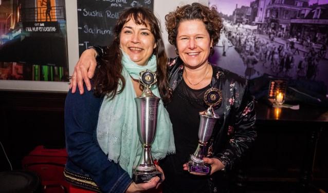 Bianca Verweij (links) en Annette Wolthers.