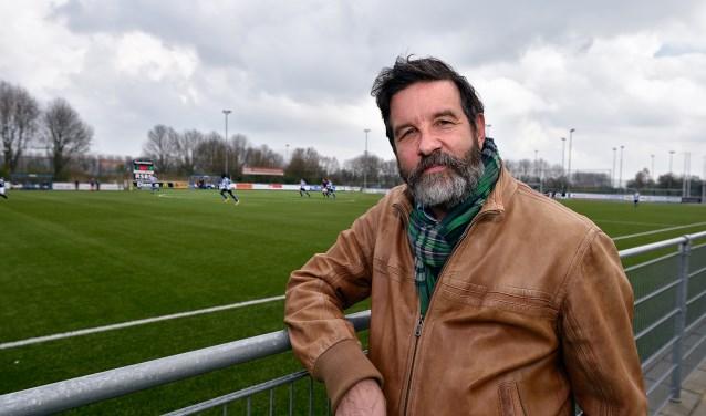 Henk van der Weele, voorzitter van SV Diemen.