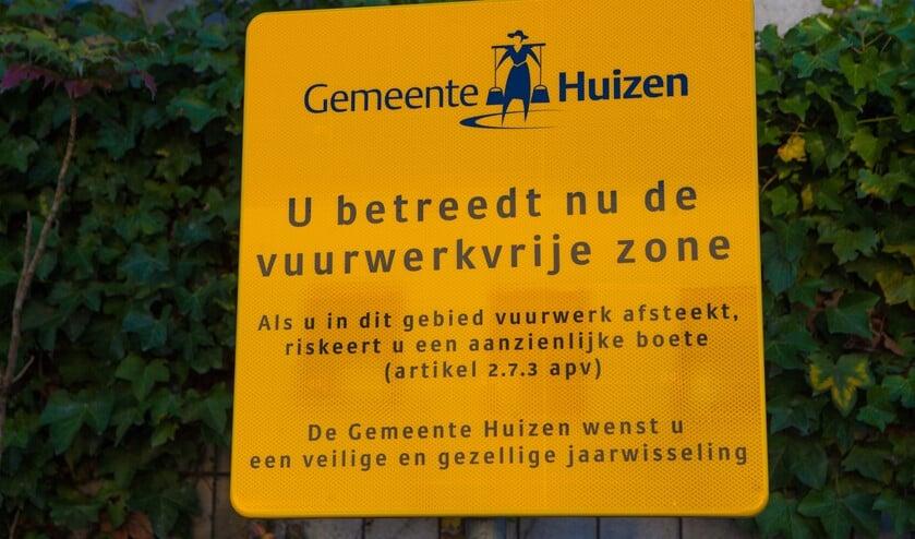 De vuurwerkvrije zones zijn volgens de gemeente succesvol.