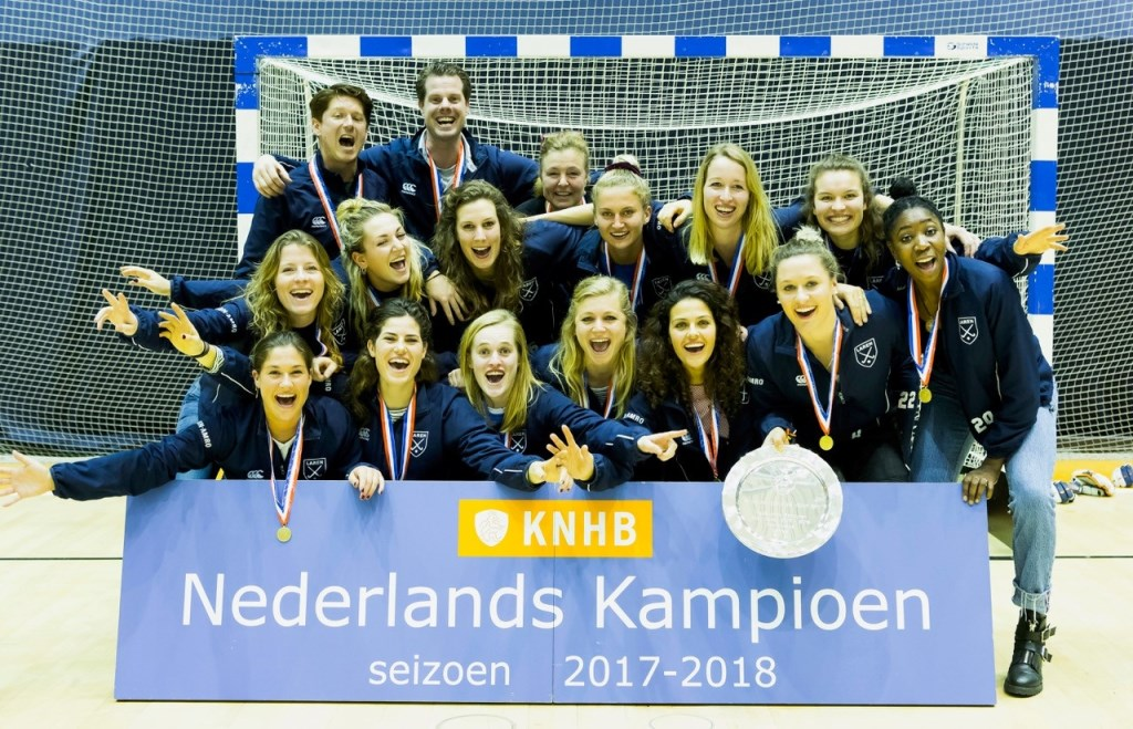 Larense hockeydames.  © Enter Media