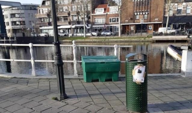 De Zoutbak op de Slijkstraatbrug.