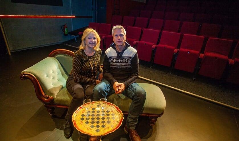 Angelique Scherpenzeel en Ruud Fecken zijn zowel acteur als regisseur bij Deo et Arti