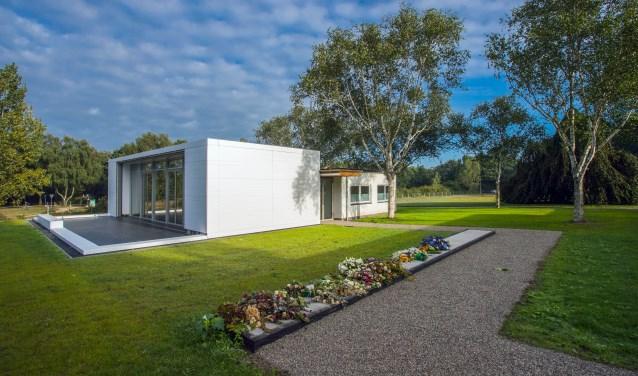 Het crematorium op Zuiderhof.