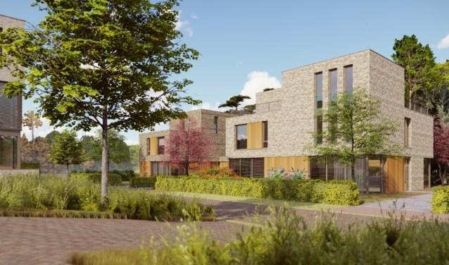 Beeld van het project op Landgoed Monnikenberg.