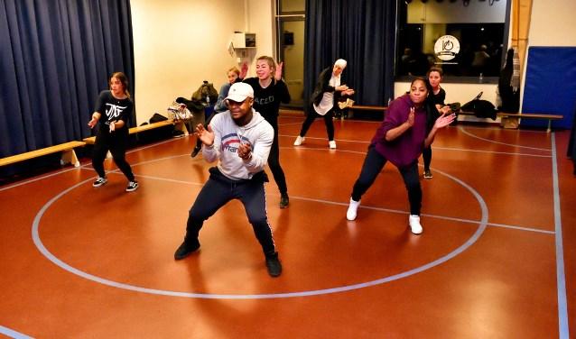 Dansles van OnPoint Dancelab.