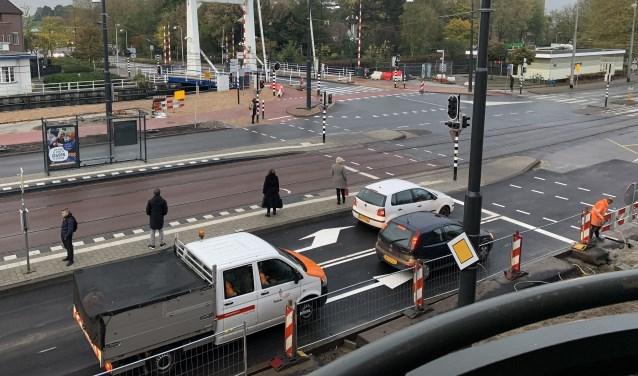 Rijbaan noordkant Muiderstraatweg is open - DiemerNieuws
