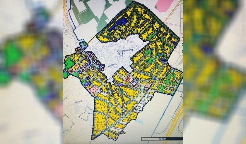 Het plangebied Oude Dorp.