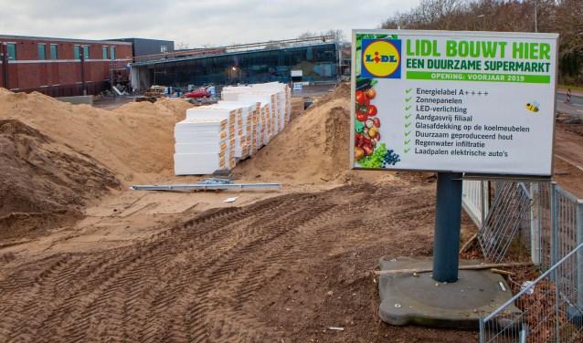 De bouw van de Lidl aan de Bestevaer mag doorgaan.