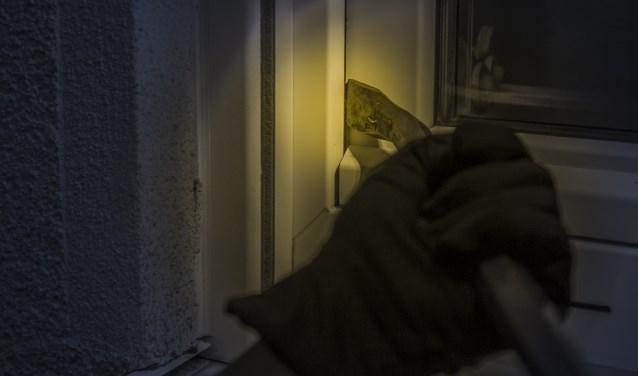 In 2018 werden 66 inbraken gepleegd in Huizen.