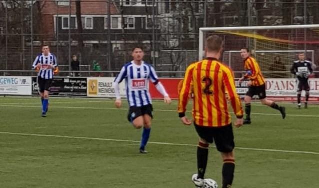 SV Diemen speelde vorige week met 1-1 gelijk bij Sporting Martinus.