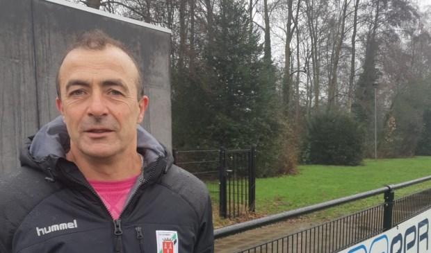 SV Eemnes-trainer Wijnand van Wegen.