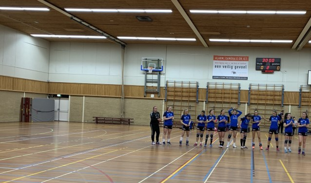 De ploeg van SV Zeeburg.