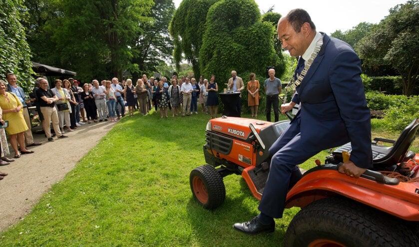 Freek Ossel zal binnenkort stoppen als burgemeester van Wijdemeren.