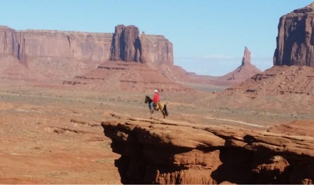 Monument Valley ligt midden in het gebied van de Navajo-indianen.