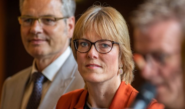 Wethouder Karin Walters.