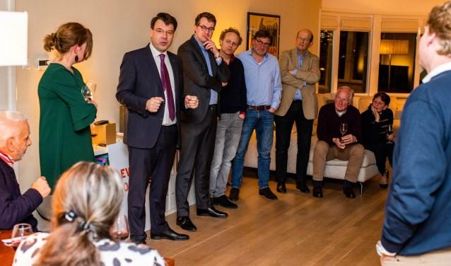 Roald van der Linde was dinsdag de hoofdgast.