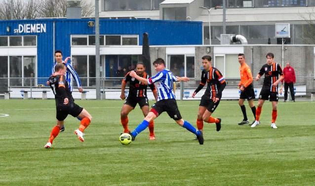 SV Diemen verloor vorige week van HBC: 1-3.