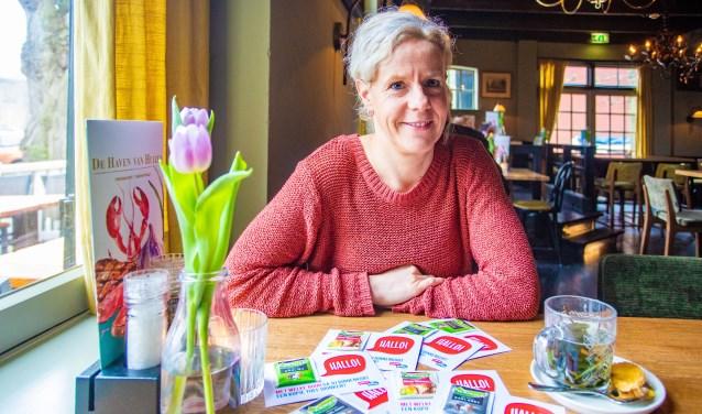 Lisette Otto wil dat het project Buurten met Buren zich als een olievlek over Huizen gaat verspreiden.