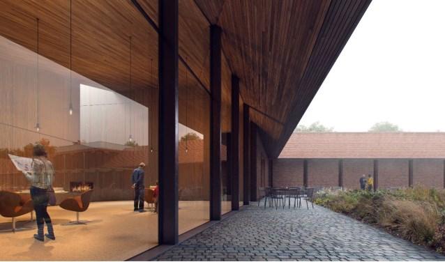 Impressie van de Nardinc vleugel, Bedaux de Brouwer Architecten.