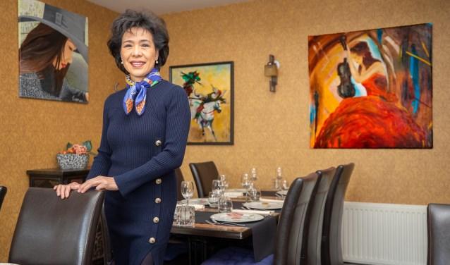 Naast koken is schilderen een grote liefhebberij van Ewan Liu.