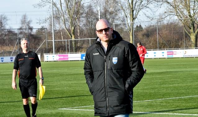 Mark Steur, trainer van SV Diemen.