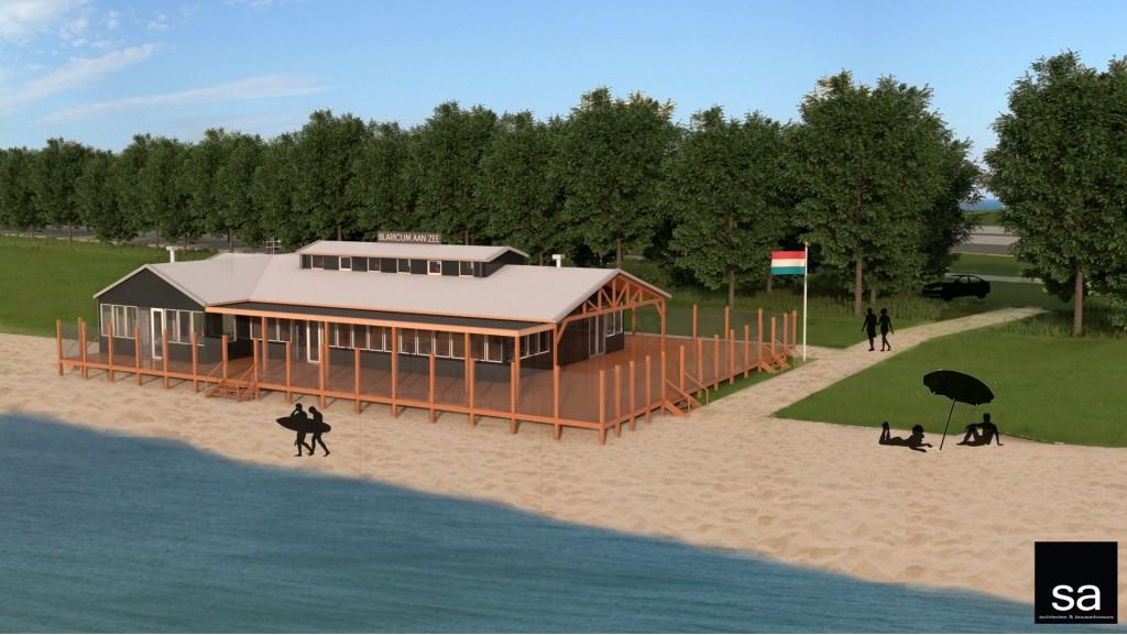 Een paviljoen van dit kaliber kost zeker een miljoen euro.  © Enter Media
