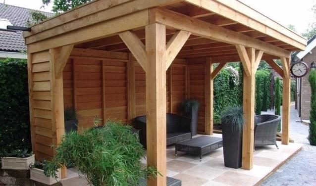 Extreem [advertentie] Creëer een schaduwplek in je tuin en bouw een veranda #ZP13