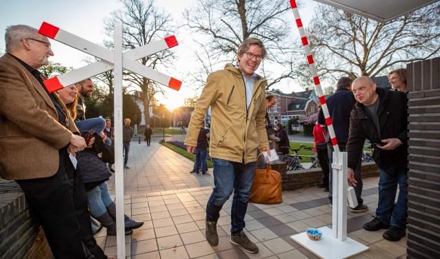 Voor CDA-raadslid Gerben van Voorden gaat de spoorboom omhoog.