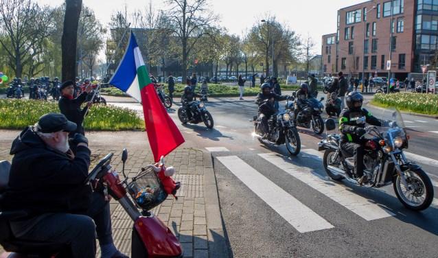 De Ride Out startte in Huizen.
