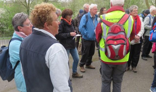 In 2017 was de pelgrimswandeltocht in Limburg.