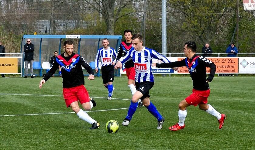 SV Diemen verloor met 0-1 van DCG.