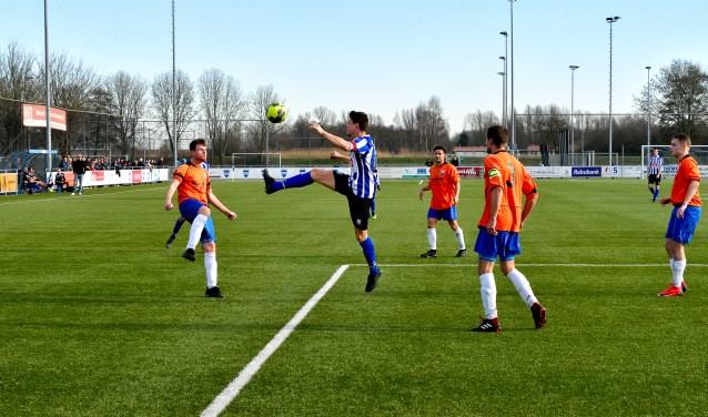 SV Diemen en VVH/Velserbroek deelden in februari de punten: 1-1.