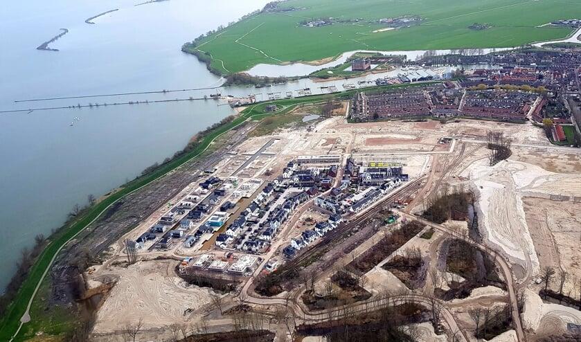 Nieuwbouwwijk de Krijgsman in Muiden krijgt niet 1 sociale huurwoning.