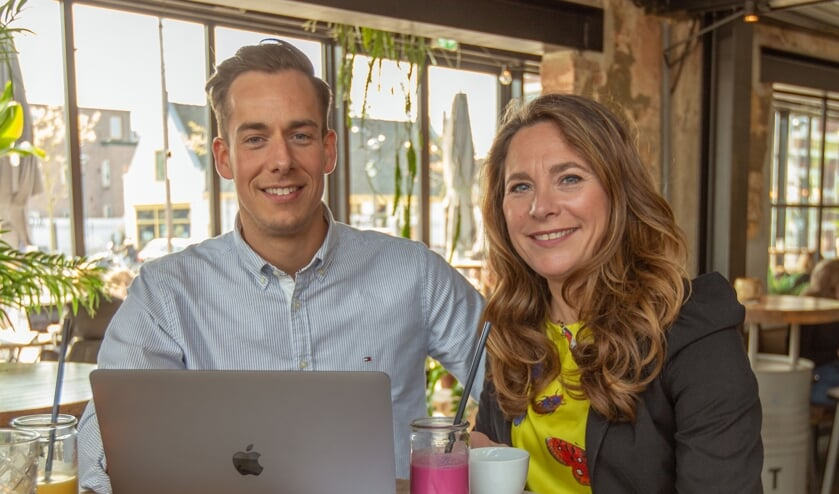 Jerry de Vries en Deborah den Dulk hebben het initiatief voor een bevrijdingsfestival genomen.