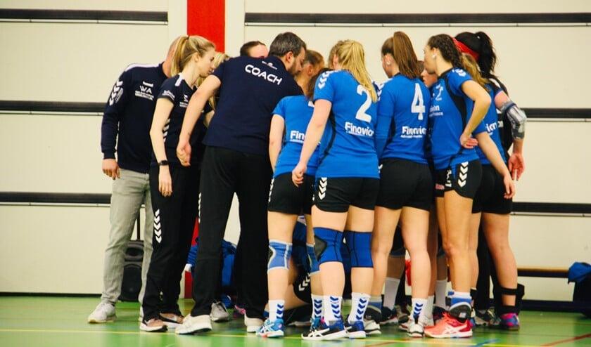 Het team van SV Zeeburg.