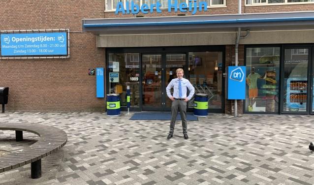 Supermarktmanager Diederik Troost.