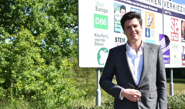 Daan Versteeg is vanaf zijn studietijd politiek actief.