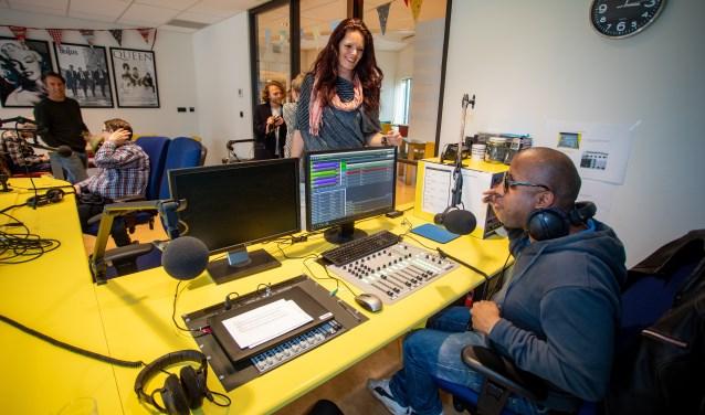 Er wordt nu weer met veel plezier radio gemaakt door cliënten van Visio.