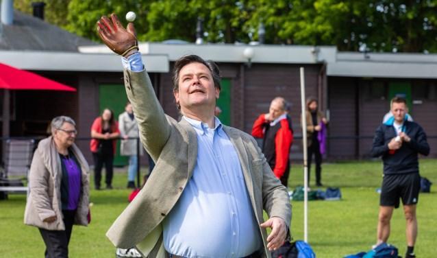 Wethouder Floris Voorink opende het toernooi.