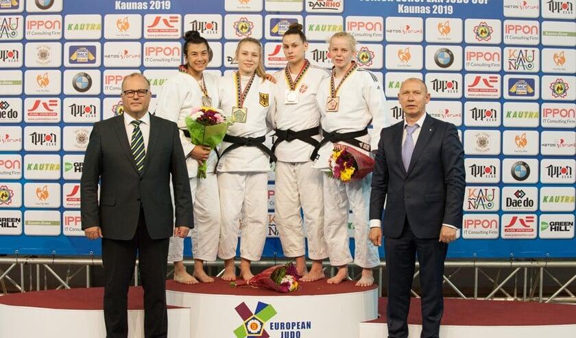 Brons voor Nadiah tijdens de Junior Europa Cup.